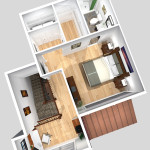 Unit A 2nd Floor Plan (Solid)